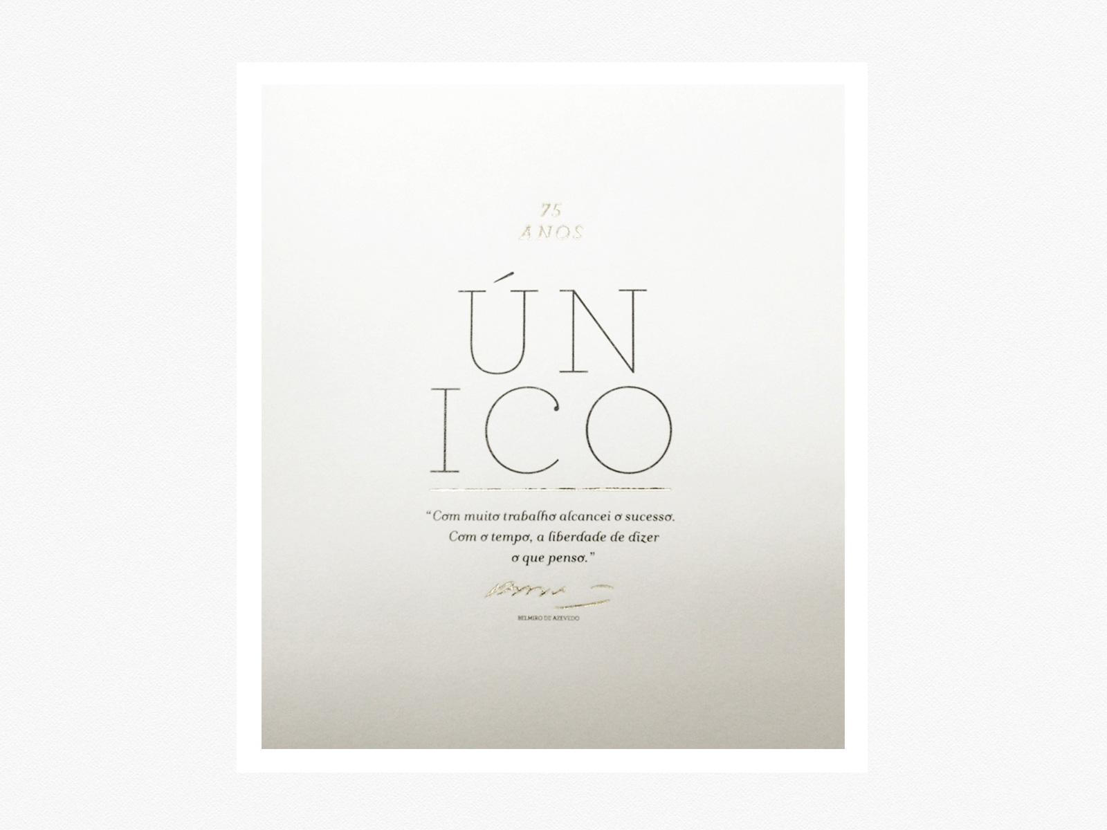 ÚNICO - 0